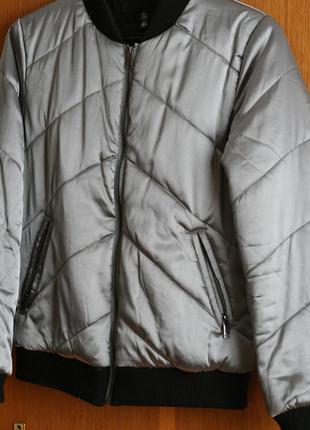 Бомбер куртка missguided zara asos bershka