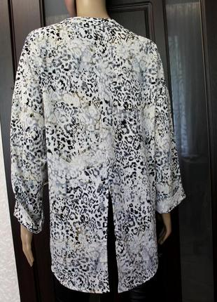 Новая крутая рубашка с разрезом на спинке 20-48 kalliste