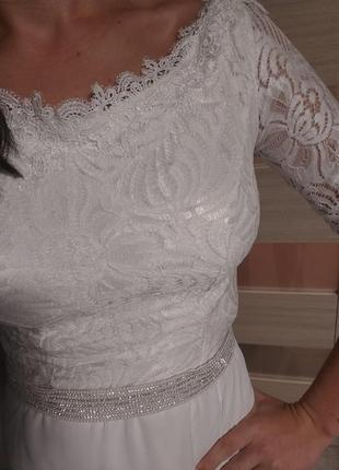 Свадебное платье на роспись выпускное вечернее нарядное