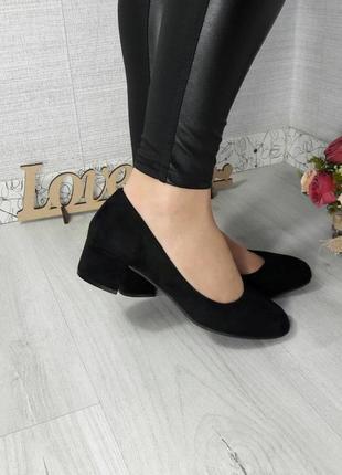 36, 41 туфли на невысоком каблуке