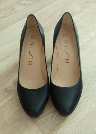 Кожаные туфли unisa
