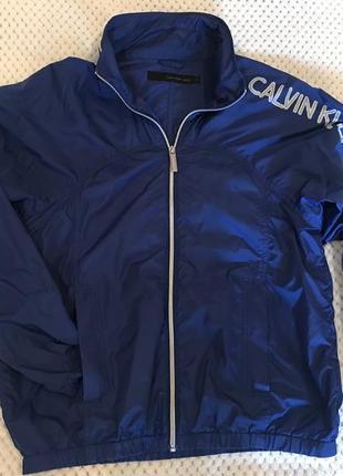 Куртка-ветровка calvin klein,оригинал