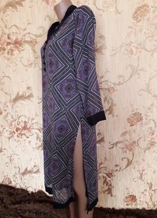 Шифоновое платье с разрезами р-р м-л