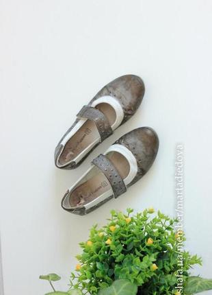 Кожаные балетки туфли мокасины, бренд hush puppies