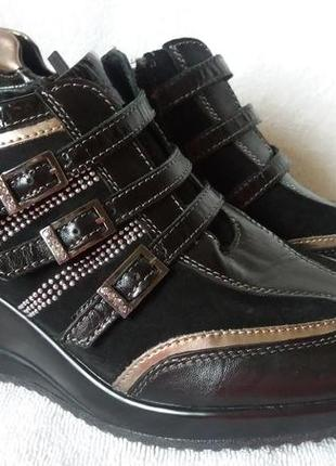 Ботинки geox джеокс р.37 стелька 24см