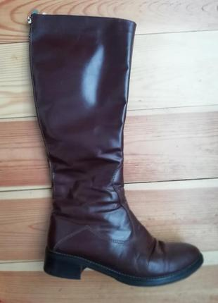 Зимові чобітки стефано(львівська фабрика) 37 р, шкіряні