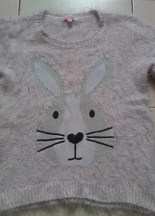 Пушистый свитеров от bluezoo