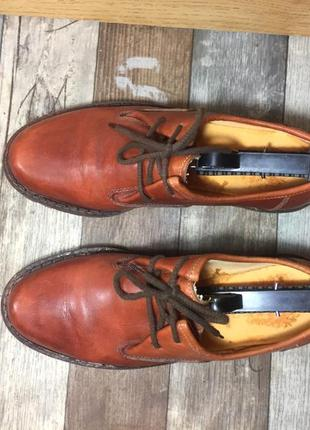 Отличные кожаные туфли
