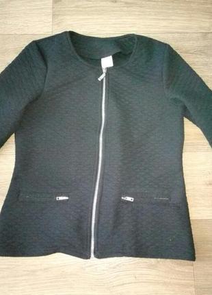 Кофта пиджак в стиле шанель