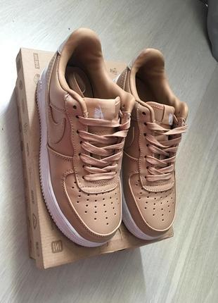 Nike force кроссовки кожаные