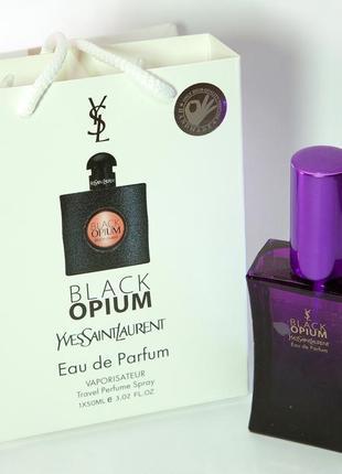 Мини парфюм black opium в подарочной упаковке 50 ml
