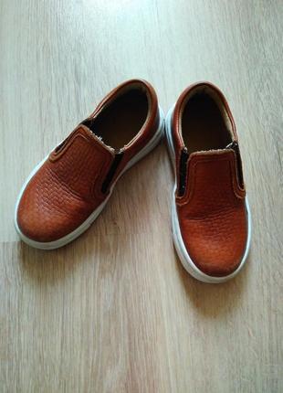 Туфли кожаные макасины кеды слипоны челси