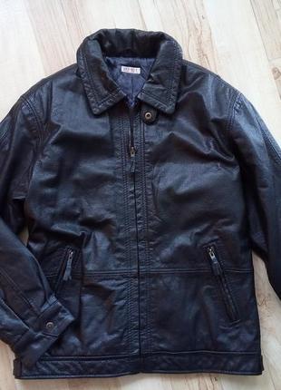 Куртка натуральная кожа кожанка 50рр