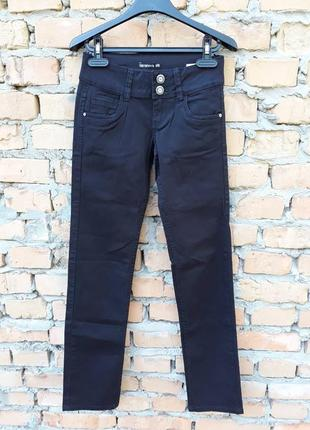 Брюки, джинсы чёрные от terranova/италия