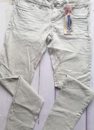 Базовые серые джинсы скини tally weijl