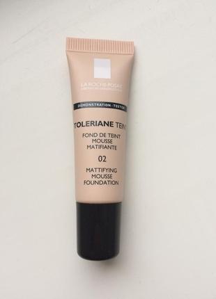 La roche-posay toleriane teint mattifying mousse foundation spf 20 тональный крем ля рош
