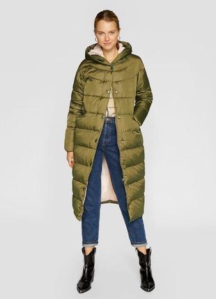 Пальто на синтепоне stradivarius 2018