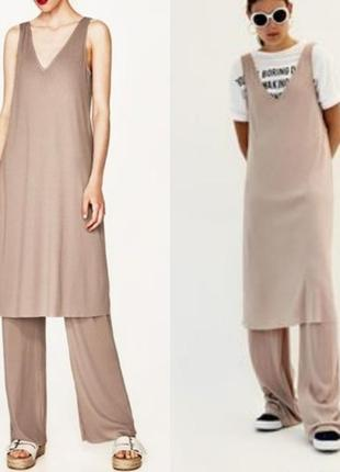 Комбинезон, комплект брюки и топ