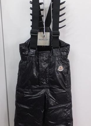 Полукомбинезон брюки монклер moncler оригинал италия пуховик 92 разм.