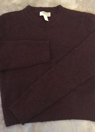 Кром свитер виного цвета