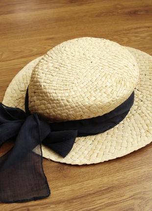 Cоломенная шляпа, h&m