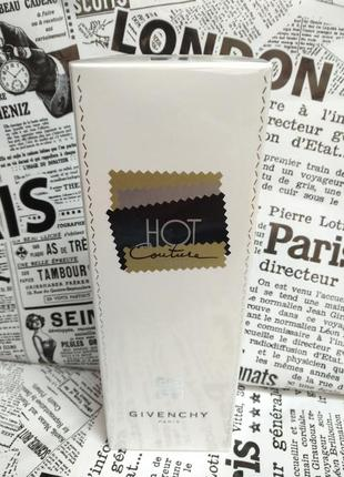 """Givenchy hot couture 100 ml """"edp"""" оригинал"""