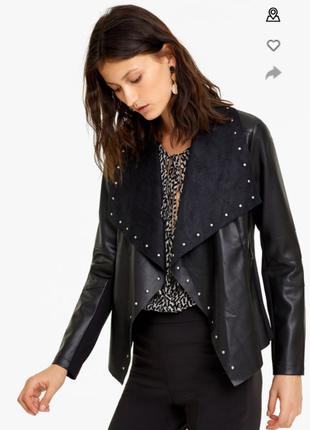 Куртка из эко.кожи италия.