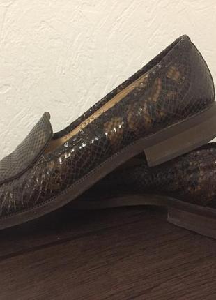 Туфли из натуральной кожи р.38/24,5 см voltan италия