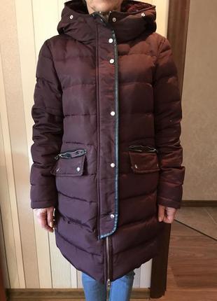 Продам зимний теплый пуховик
