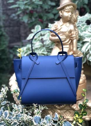 Элегантная кожаная сумка. италия.