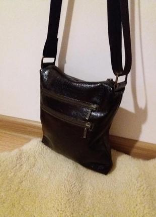 Качественная,стильная мужская  сумка из натуральной кожи,новая