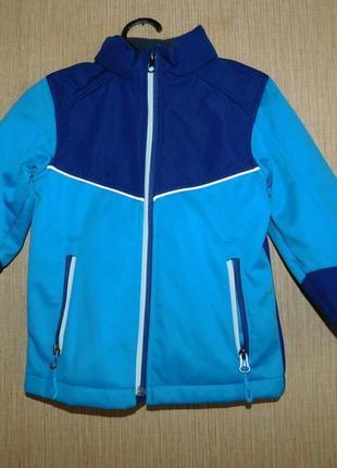 Ветровка, куртка термо crane германия на 3-4 года рост 98-104 см