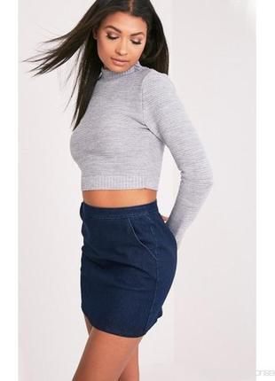 Стильный укороченный свитер prettylittlething