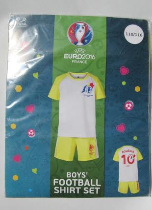 Спортивный костюм для футбола мальчику на 5 - 6 лет. рост 110 -116 см. германия