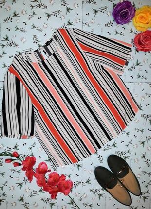 Акция 1+1=3 стильная блуза в полоску george, размер 48 - 50