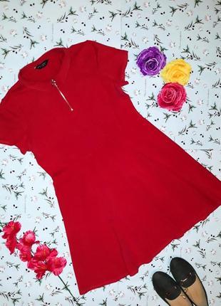 Красное короткое платье dorothy perkins, размер 50