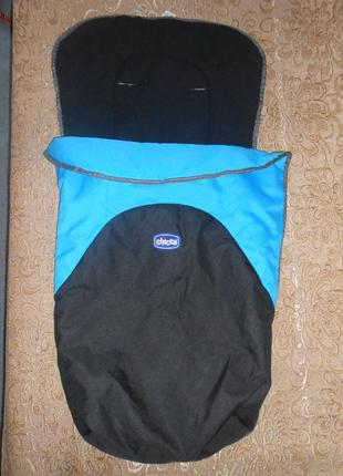 Конверт термо chicco чехол мешок на ножки в коляску