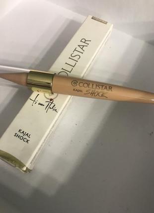 Бежевый кайял каял collistar карандаш