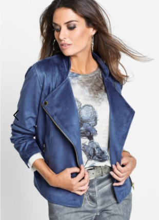 "Куртка -""косуха""синяя"