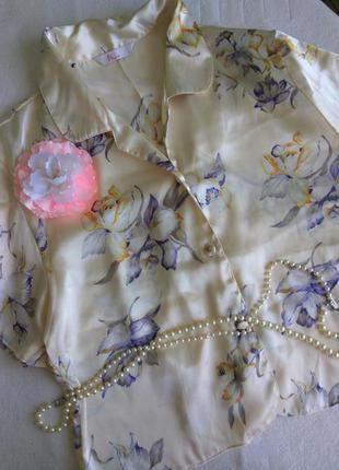 Розкошная атласная пижама bhs размер 12-14