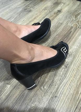 Замшевые туфли fornarina