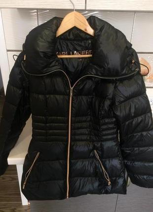 Пуховик, куртка karl lagerfeld