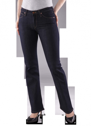 Базовые темно синие джинсы