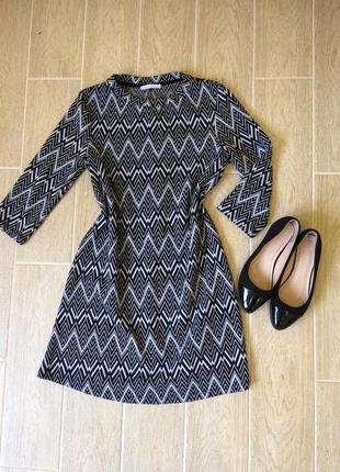 Тёплое платье на осень zara
