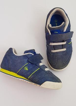 Стильні кросівки для хлопчика dunlop,натуральна замша.