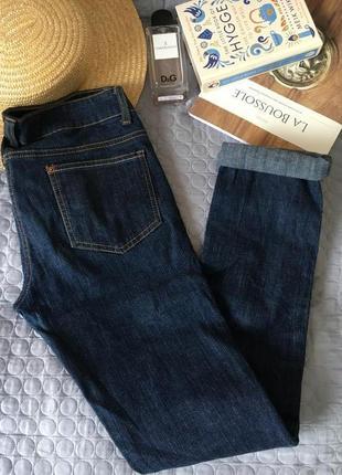 Базовые темно синее джинсы