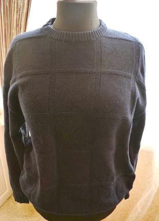 Теплый шерстяной свитер, кофта, джемпер, шерсть ягнят, burberry
