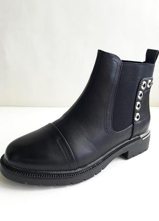 Акція! жіночі демісезонні напівчобітки (полусапожки, ботинки) розмір 38, 39, 41.2