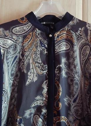 Блуза в восточном стиле с узорами бута