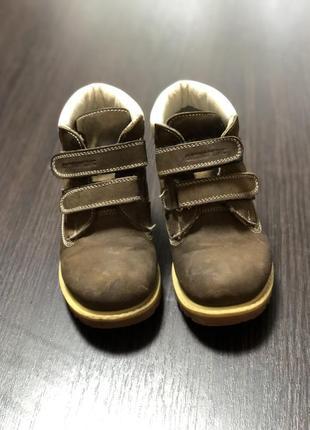 Детские демисезонные ботинки woopy orthopedic размер-28